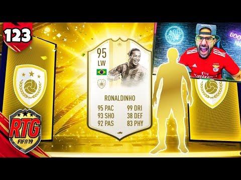 OMG YES!!! I GOT 95 RONALDINHO!! FIFA 19 Ultimate Team RTG #122