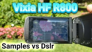 Canon Vixia HF R800 Review with samples