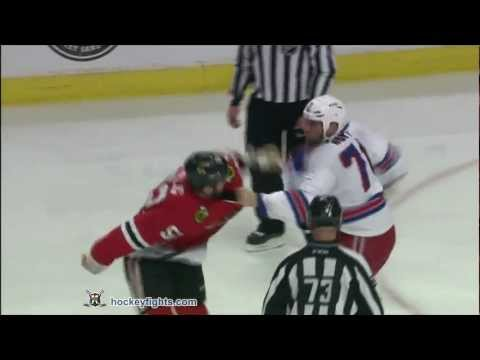 Brandon Bollig vs. Michael Rupp