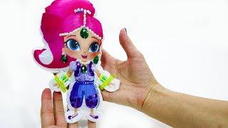Шиммер и Шайн своими руками Мастерим игрушку Видео для детей Поделки для детей Герои мультфильмов