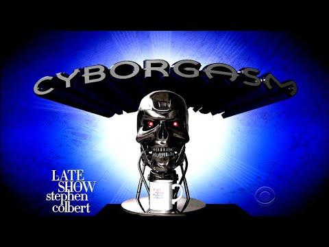 Stephen Colbert's Cyborgasm: Artificial Intelligence