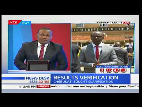 Supreme Court Ruling: Wafula Chebukati can only flag off any errors concerning electoral results