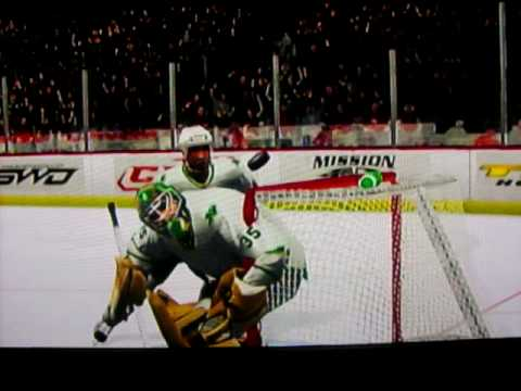 nhl 2k9 wii how to fight