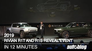 2019 Rivian R1T and R1S Reveal in 12 minutes