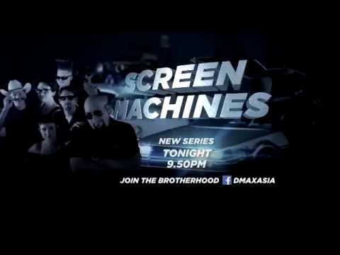 Screen Machines TV Show promo for DMAX ASIA