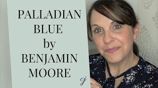 Palladian Blue Benjamin Moore