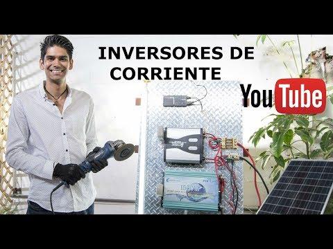 Inversores de corriente   Convertidores para instalación Solar   Características 12V 110VAC
