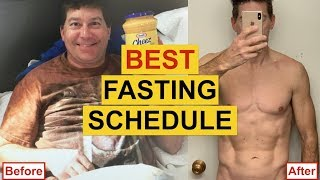 THE BEST INTERMITTENT FASTING SCHEDULE For Weight Loss (INSANE RESULTS)