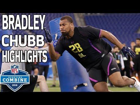 Bradley Chubb's BEAST Workout!   NFL Combine Highlights