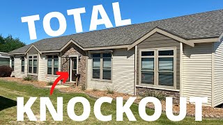 This home's a total knockout!! 2,400 sq ft of custom built modular GREATNESS! Mobile Home Masters