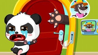 Безопасность Малыша Панды.Как уберечь Малыша от Неприятностей.Мультик Игра про Панду на Русском