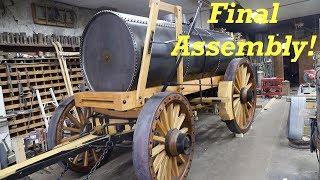 Borax Water Wagon | Final Blacksmithing & Assembly | Engels Coach