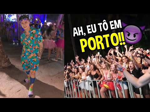 FESTA A FANTASIA NO PRIMEIRO DIA EM PORTO SEGURO COM A FORMA TURISMO!!