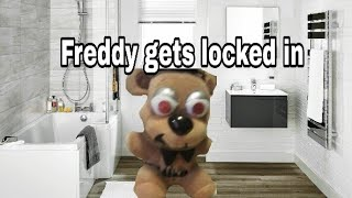 Freddy gets locked in