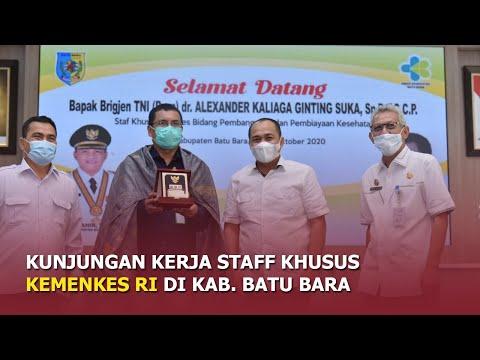 Kunjungan Kerja Staff Khusus Kemenkes RI di Kabupaten Batu Bara
