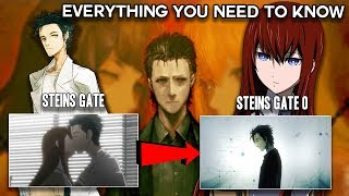 EVERYTHING You NEED To Know Before WATCHING Steins;Gate 0 - Steins Gate Explained