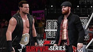 WWE Survivor Series 2016: Dolph Ziggler vs Sami Zayn (Intercontinental Championship)