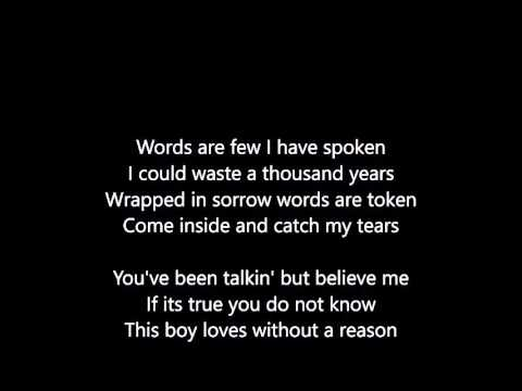Culture Club Do You Really Want To Hurt Me Lyrics Scrolling