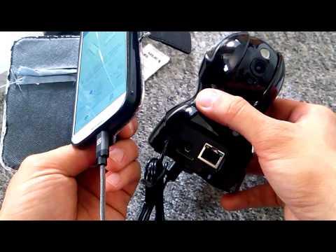 720P HD Wlan IP Cam Geediar Überwachungskamera Bewegungserkennung 15m Nachtsicht