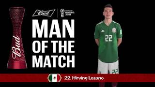 Hirving LOZANO - Man of the Match - MATCH 11