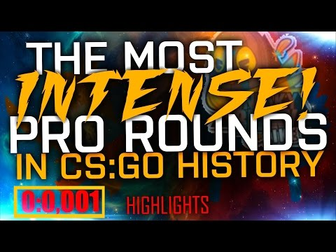 CS:GO | THE MOST INTENSE PRO ROUNDS! (Stream Highlights, Insane shots, The best moments)