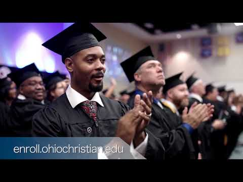 Ohio Christian University Commencement Interview Ad