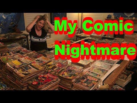 Storage Wars My Comic Book DREAM / NIGHTMARE Too Many Books Marvel DC
