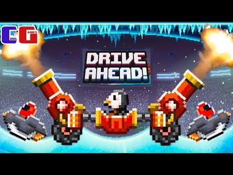 Drive Ahead ВОССТАНИЕ ПИНГВИНОВ! Зимние ЗАДАНИЯ на НОВЫХ ТАЧКАХ! Мультяшная игра Драйв Ахед