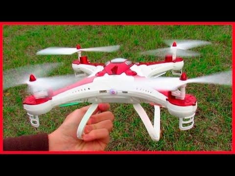 VUELO DRONE SJ T40 EN ESPAÑOL: Drones con cámara FPV  por WiFI