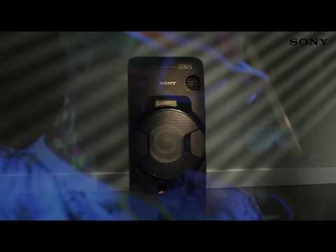 Музыкальный центр Sony MHC-V11 видео 1