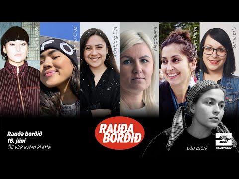 Rauða borðið: Fjallkonur af erlendum uppruna