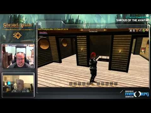 Starr Long shows off Release 8 with MMORPG!