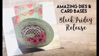 New Heartfelt Creations Black Friday Release Dies And Card Bases!