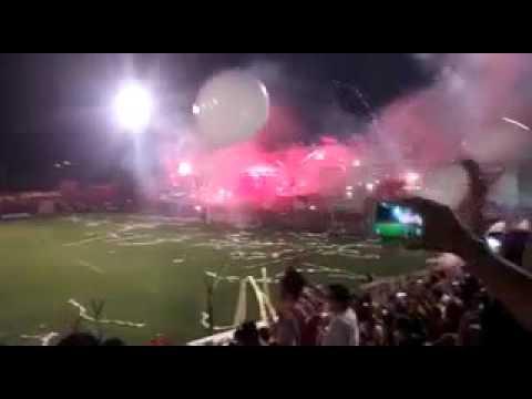 """""""Recibimiento Final Federal """"B"""" 2.015 - San Martín (Mza) vs Defensores de Pronunciamiento """" Barra: Los Leones del Este • Club: San Martín de Mendoza"""