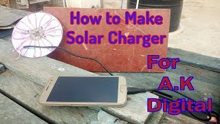 How to make solar energy charge for AK Digital's