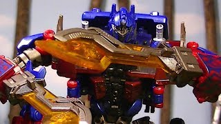 Transformers: RoTF Forest Battle stop-motion