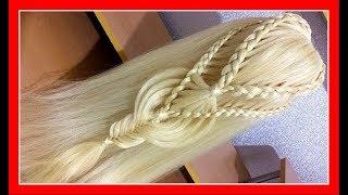 BEAUTIFUL HEART BRAID COMBO VALENTINE HAIRSTYLE / HairGlamour Styles /  Braids Hair Tutorial