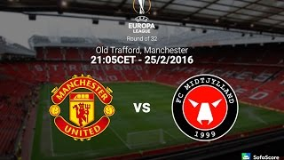 Manchester United Vs Midtjylland 51 Full Match Europa League
