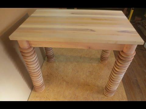 Como Hacer Una Mesa De Madera Con Retazos Carpinteria Facil