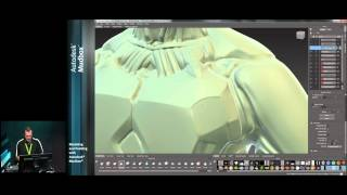 Modeling and Painting with Mudbox - Part 1