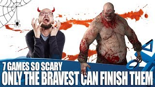 7 Videogames So Terrifying Only The Bravest Gamers Can Finish Them