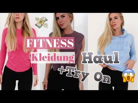 Günstige Fitness Kleidung TRY-ON & Haul I MyProtein, Amazon & mehr unter 10€ I Sommer 2018