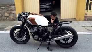 Yamaha xj 650 cafe racer