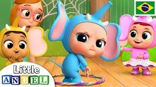 Um Elefante se Balançava!   Infantil   Canal do Joãozinho - Little Angel Português