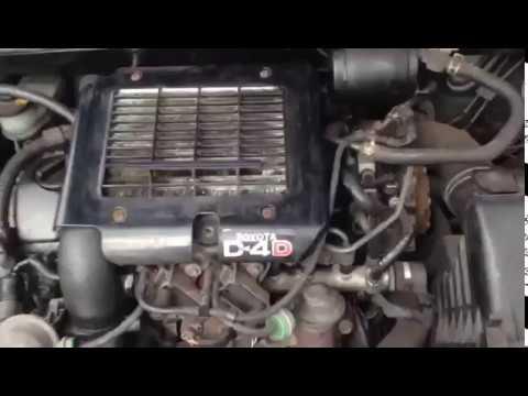 Toyota Injector problems /Car not start / Corolla Verso D4D / DENSO