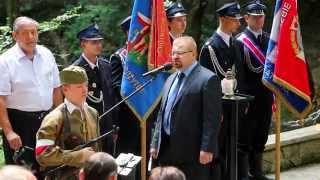 Iwonicz - Obchody 71. rocznicy mordu w Lesie Grabińskim