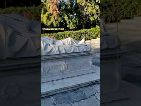 "VR-Park A.I. – Statues identification in ""Pedion Areos"" park  (test video 9 – in beta)"