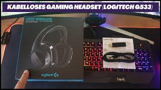 Kabelloses Gaming Headset (Logitech G533).