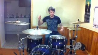 Every Time I Die - Wanderlust - HD Drum Cover - Chris Taylor