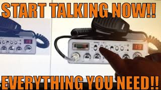 Beginners guide to CB radio,everything you need and what to buy